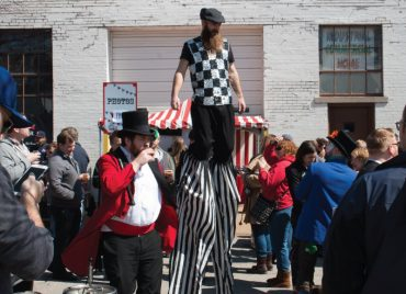 Stilts in the Crowd